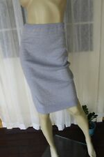 SIZE 6P DANNI MINOGUE GREY AND GOLD STRETCH KNIT SKIRT BNWT ⭐️FREE POST ON ANY 5