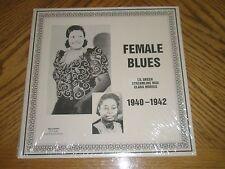 LIL GREEN / STREAMLINE MAE / CLARA MORRIS ~ FEMALE BLUES Document 548 ~ SEALED