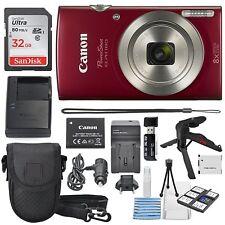 Canon Digital Camera Bundle 720p HD Video 20MP Vibrant Clear Pictures Automatic