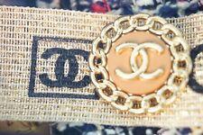 100% Chanel button 1 pieces   metal cc logo 23 mm 1 inch 💔💔💔