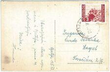 72899 - ISTRIA & LITORALE Sloveno  - Storia Postale - CARTOLINA da GRATIJA 1947