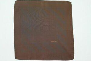 New CERRUTI 1881 silk pocket handkerchief made in Italy...