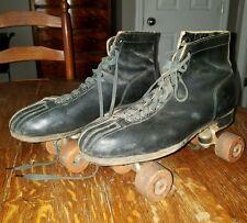 Vintage Chicago 8 Roller Skates - WARE BROS. Pat. August 15, 1914 - 99550 105D