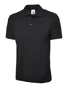 Uneek Unisex Polo Shirt Classic UC101 Work Wear Causal Top - Various Colours
