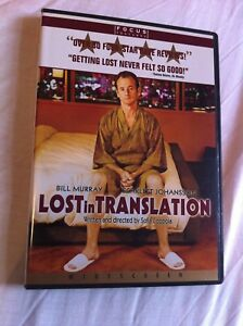 Lost In Translation - 2003 Bill Murray/Scarlett Johansson (Region 1 NTSC DVD)