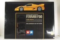 TAMIYA 1/12 FERRARI F50 Giallo Modena SEMI-ASSEMBLED DIE-CAST MODEL VERY RARE!!