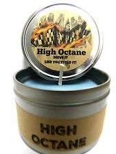High Octane - Racing Fuel Great for Men 4oz Candle Tin Soy Candle Handmade Item