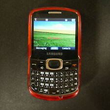 Samsung Wireless Keyboard/Pad Cell SCH-R390 Cellular Phone w Charger & Case