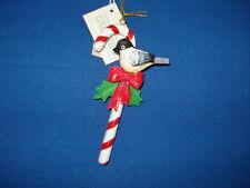 Candy Cane Ornament With Bobwhite 68189 63