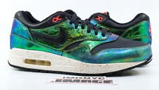 NIKE AIR MAX 1 QS USED SIZE 10 MULTI TROPHY PACK BRONZE BLACK IVORY 669639 700