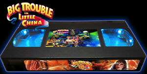Big Trouble in Little China - Retro VHS Lamp +Remote Control - 80s Action Movie