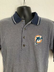 Vintage Miami Dolphins Starter STITCHED Polo Shirt Men's Large