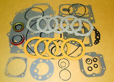 1955 CHEVY POWERGLIDE TRANSMISSION OVERHAUL GASKET , SEAL & CLUTCHES KIT