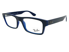 Ray-Ban Eyeglasses Rectangle RX RB 7030 5399 55-17 Purple Transparent Blue