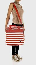 Invicta Shopper Crossbody Bag Red White Stripe Rover NEW