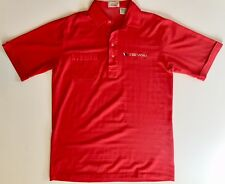 Vintage Truesports Indy Car Racing Medium Men's Polo Shirt