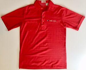 Vintage Truesports Indy Car Racing Medium Men's Polo Shirt