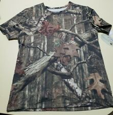 Mens L Mossy Oak T-Shirt NWT Authentic Graphic Camo Top Hunting #CMO1