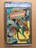 CGC Comic graded 9.4 DC Justice league of America  #181 Key film