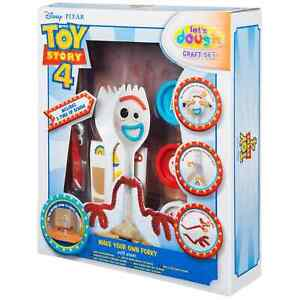 Disney Pixar Toy Story 4 Make-Your-Own Forky Craft Set dough tubs creativity new