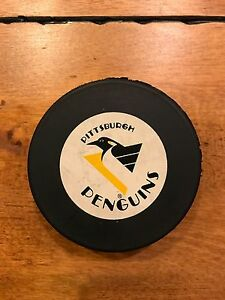 PITTSBURGH PENGUINS NHL Hockey Official Puck