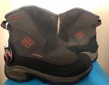 Columbia Mens Arctic Trip Omni Heat Slip Boot Waterproof Leather Snow RUNS SMALL
