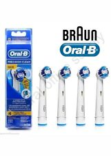 Mejor X 4 Braun Oral-B Precision Clean Cepillo de dientes eléctrico Replacement Brush Head