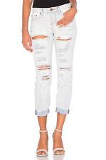 NWT $149 One Teaspoon Awesome Baggies Jeans Boyfriend Cut Hamptons Destroyed 25