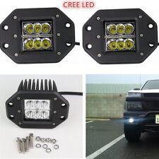 2x CREE Spot Offroad Driving Work Reverse LED Light BAR 4WD SUV Waterproof