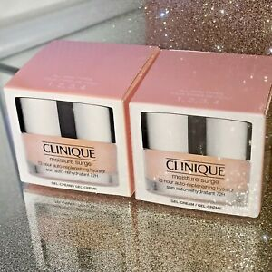 Clinique Moisture Surge 72-Hour Auto-Replenishing Hydrator Gel-Cream  2X15ml