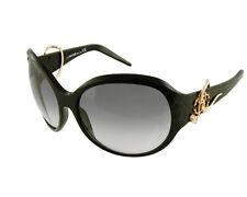 ROBERTO CAVALLI 'Penelope' Ladies Sunglasses RC395 0B5 Black/Gold CAT2 Grey Lens