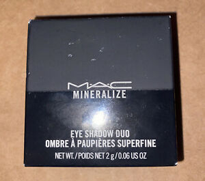M.A.C Mineralize Eye Shadow Duo Spiced Metal New in Box