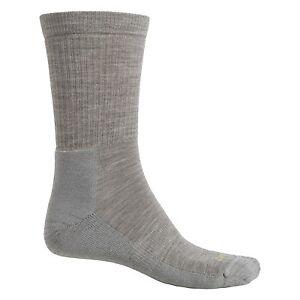 New Men`s Lorpen Outdoor T2 Lifestyle Socks Merino Wool Blend, Crew