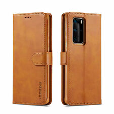 For Huawei P40 Pro P30 Lite P Smart Z Flip Leather Wallet Card Stand Cover Case