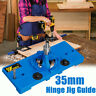 35mm Concealed Hinge Jig Drill Guide Cabinet Drilling Door Hole Boring Locator