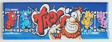 Trog Marquee FRIDGE MAGNET (1.5 x 4.5 inches) arcade video game