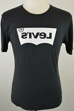 Men's Levi's Line 8 LN8 Black Crew Neck T Shirt Small