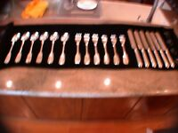 Silverware Set. Antique and very rare Russian Imperial.