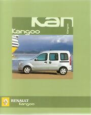 Prospetto/brochure RENAULT KANGOO 07/2005