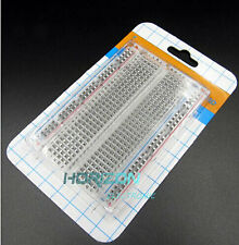 Breadboard 400 Contacts Tie-points Mini Universal Clear Solderless Available