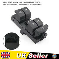 Master Power Window Control Switch Fit For VW Golf Passat Tiguan 5G0959857C UK