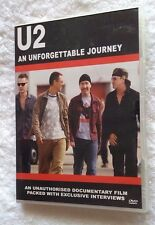 U2 - An Unforgettable Journey (DVD, 2004) R-4, LIKE NEW, FREE POST IN AUSTRALIA