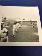 Mickey Mantle 1967 Spring Training Original Photo  4x4