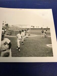 Mickey Mantle 1967 Spring Training Original Photo  4x4