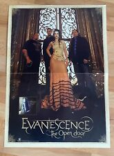 Evanescence Promotional Poster Double Sided Perforated 24 X 17 (2006)