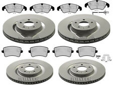 AUDI S5 (8T) 3.0 4.2 FRONT & REAR BRAKE DISCS AND PADS - 345MM / 330MM