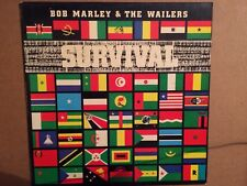 """BOB MARLEY AND THE WAILERS """"SURVIVAL"""" VINILE LP"""