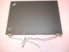 "IBM/Lenovo Thinkpad T400 14"" LCD Housing Cover Bezel Hinges 42X4870"
