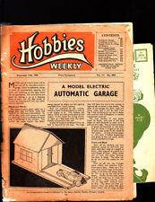 Vintage Hobbies Weekly, Dec 1950, 2876, Model Electric Garage & Mechanical Tiger