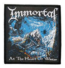 Immortal  Aufnäher - At The Heart  (SP2368)Immortal  Patch - Gewebt & Lizenziert